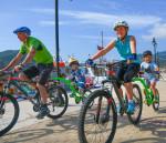 Family rides Lefkada