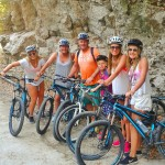 Family activity in Lefkas